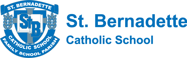 St Bernadette Catholic School Logo